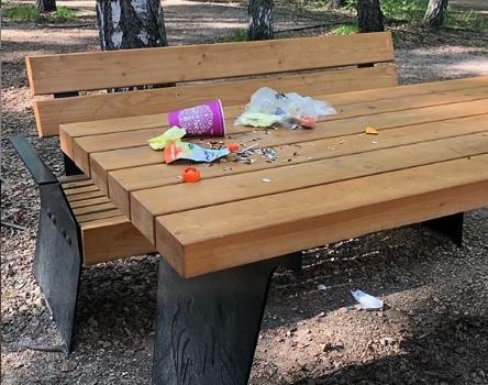 В парке «Гремячая грива» откровенно рассказали о свинстве туристов