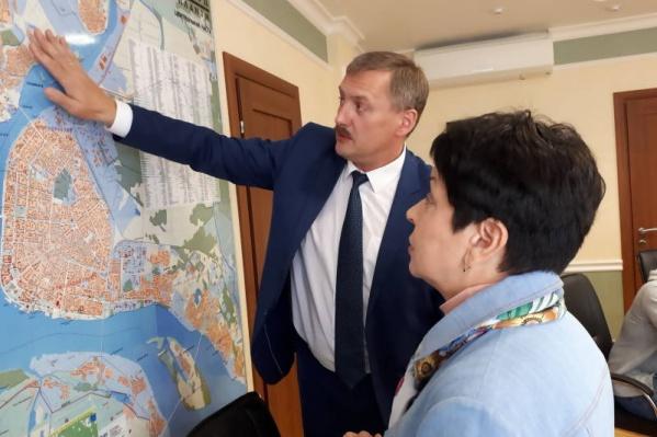 Съемочную группу заинтересовала островная часть Архангельска