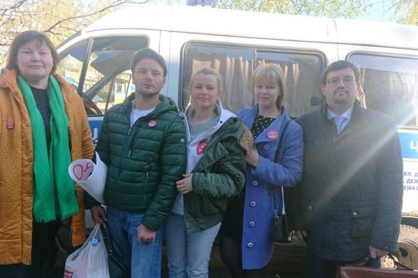 Дарья Боровикова и Антонина Обеднина провели ночь в отделении полиции