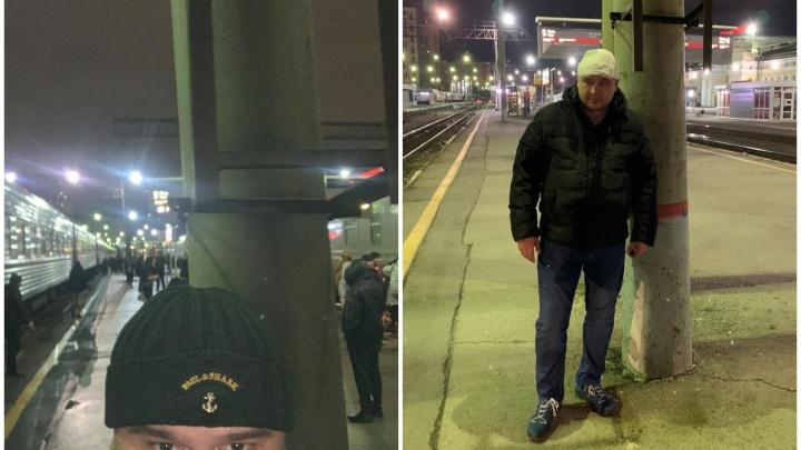 На железнодорожном вокзале подрезали лестницу, о которую екатеринбуржец разбил голову