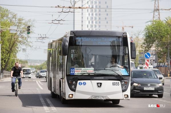 Большие автобусы вернулись на маршрут № 22 в марте этого года
