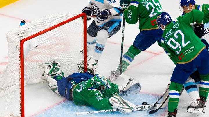 «Мишкопад», 14 минут штрафа Метсолы: «Салават Юлаев» в последнем домашнем матче уступил «Сибири»