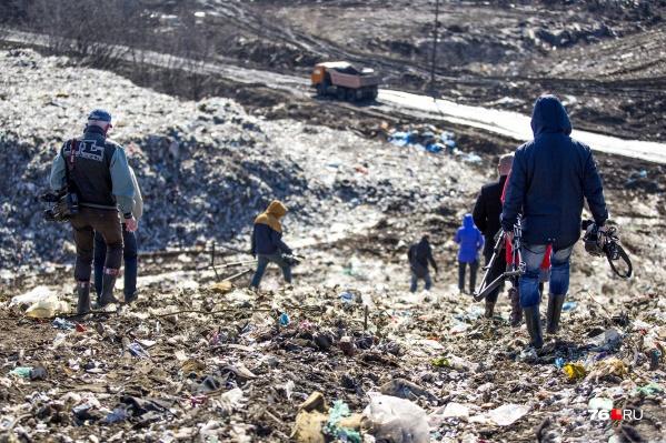 История с ввозом московского мусора оказалась больной для тысяч ярославцев
