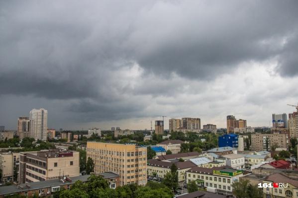 По Ростовской области снова пройдут ливни