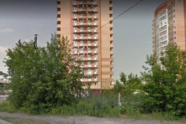 Ленинградская улица в Красноярске