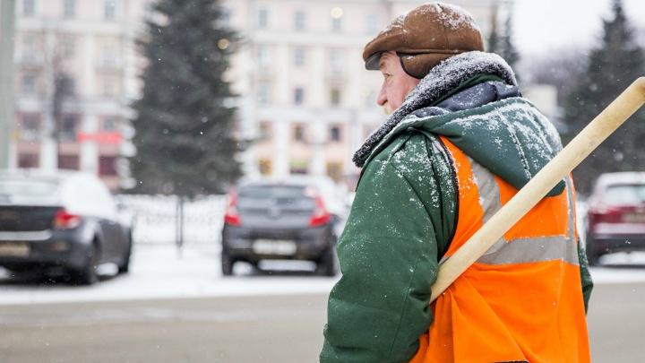 Стало известно, сколько стоит работа дворников в Ярославле в сутки
