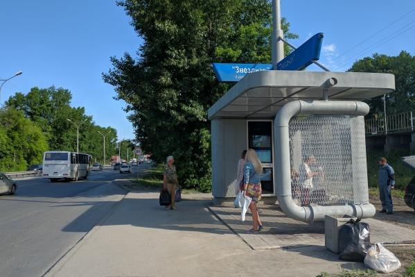 Местные жители заметили новый павильон на этой неделе