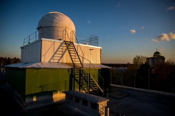 Купол обсерватории «Вега»
