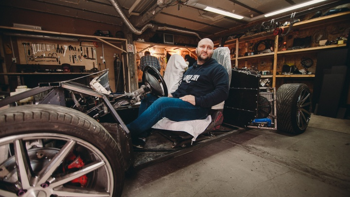 На чём ты ездишь: тюменец собирает в своем гараже копию Lamborghini