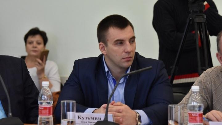 Депутата Заксобрания от КПРФ Илью Кузьмина задержали за заведомо ложный донос