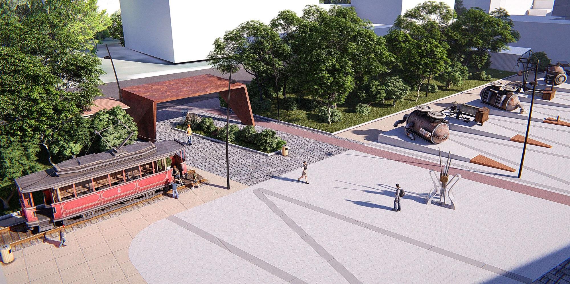Всего планируется обустроить семь выходов к набережной с разных улиц города