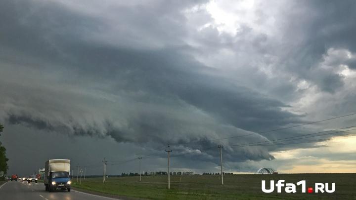 МЧС Башкирии предупредило о надвигающемся ветре