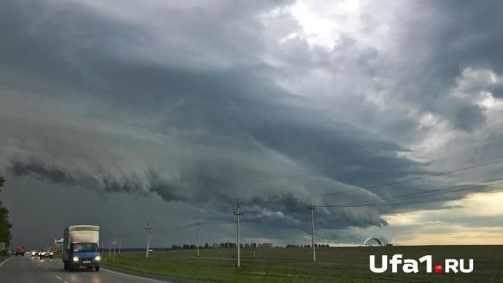 Жителей Башкирии синоптики предупреждают о шквалистом ветре