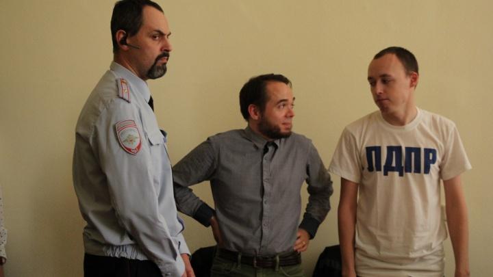Впервые в Поморье активиста за участие в протестной акции оштрафовали на 200 тысяч рублей