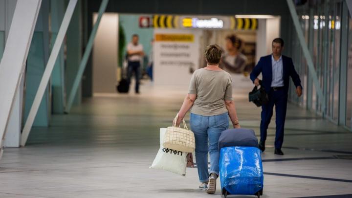 В авиакомпании назвали причину резкого торможения самолёта на взлётной полосе