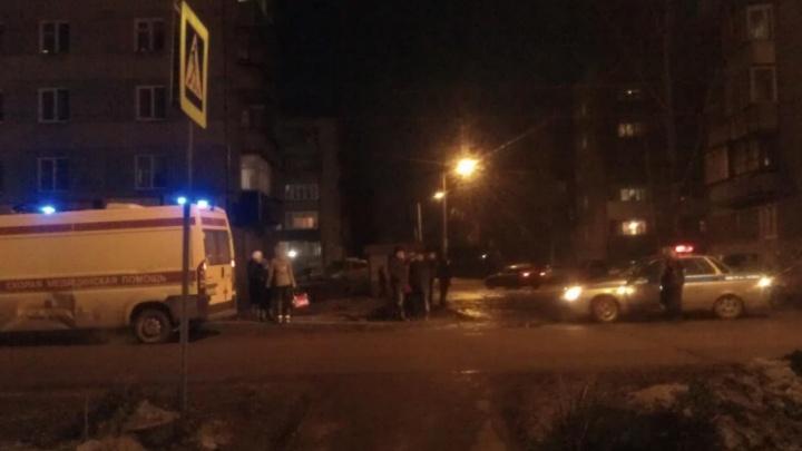 В Копейске автомобилист сбежал от сбитой им женщины