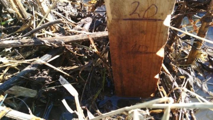 В затопленном башкирском поселке снизился уровень воды