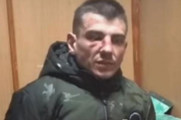 Виталий Чикирев в Cледственном комитете на допросе