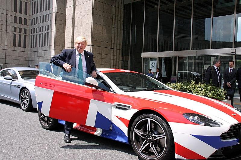 Борис Джонсон очень экспрессивен и зачастую резок