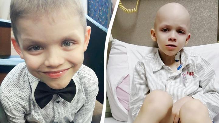 «Вернусь домой на самолете»: история 7-летнего мальчика, который борется с раком