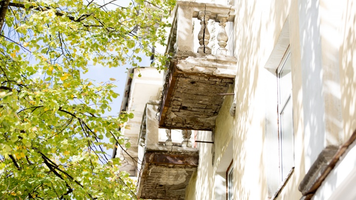 Посмотри наверх: 17 балконов в центре Ярославля, которые выглядят так, будто вот-вот рухнут