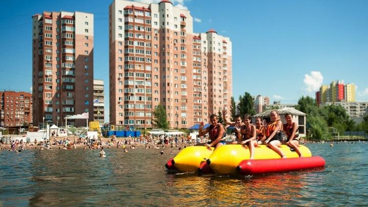 В Башкирии все лето будут работать 75 официальных пляжей