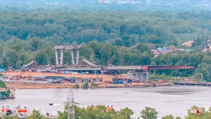 Часть исторического центра Самары перекрыли почти на год из-за Фрунзенского моста