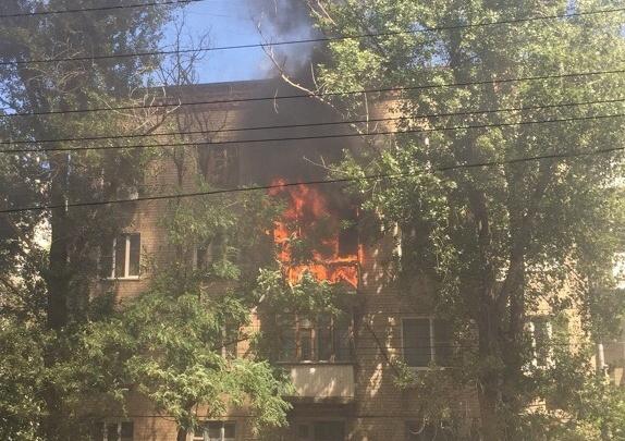В Ворошиловском районе при пожаре погибли двое мужчин
