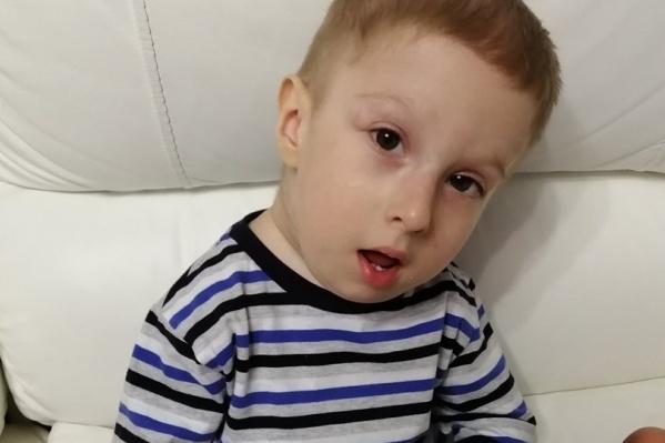 Тимофею Павленко всего 2 года