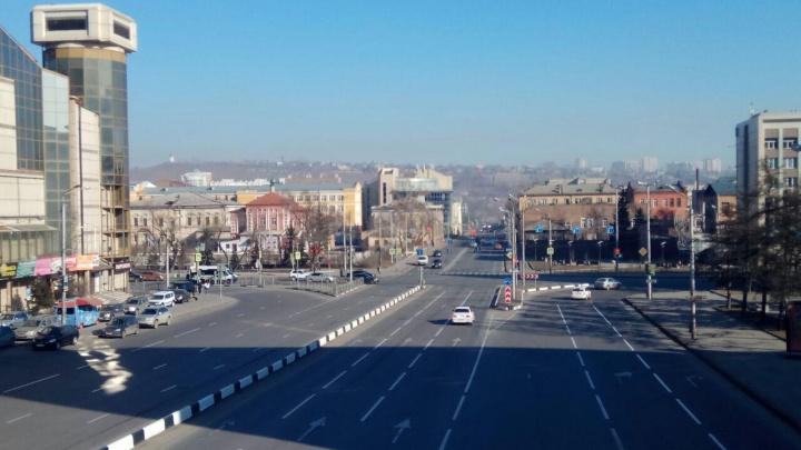 Красноярск вновь накрыло зловонной дымкой