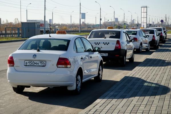 Таксиста, который работал без лицензии, задержали