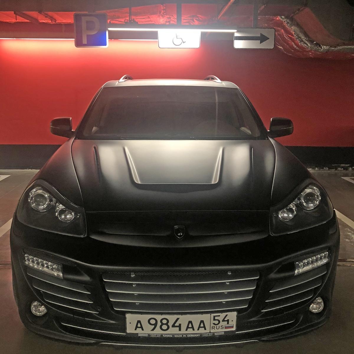 «Я паркуюсь как чудак»:Porsche Cayenne ААА — я здесь инвалид