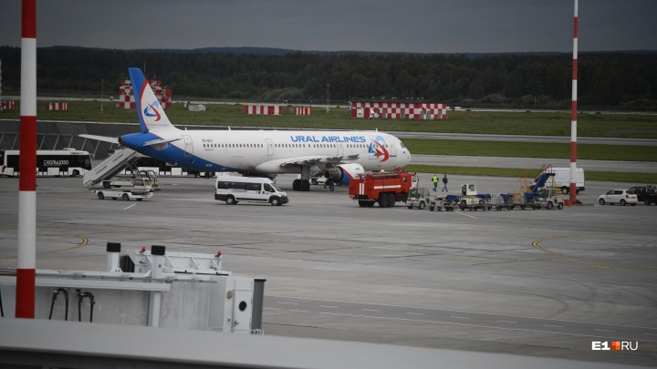 Из-за аварийной посадки самолета в Кольцово прокуратура начала проверку