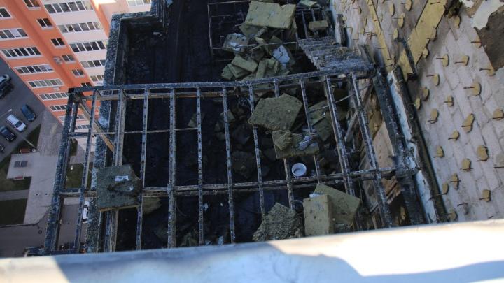 «Пожарные датчики обернули полиэтиленом»: что сгорело в пентхаусе на Пятой просеке