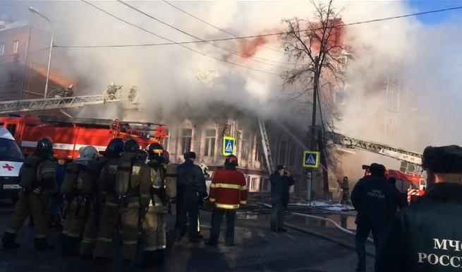 Пожар в «Золотой черепахе» на Володарского: подробности с места и возможная причина ЧП