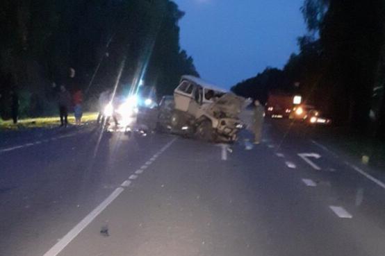 Водитель и пассажиры ЗИЛа были зажаты в салоне, их вырезали оттуда спасатели