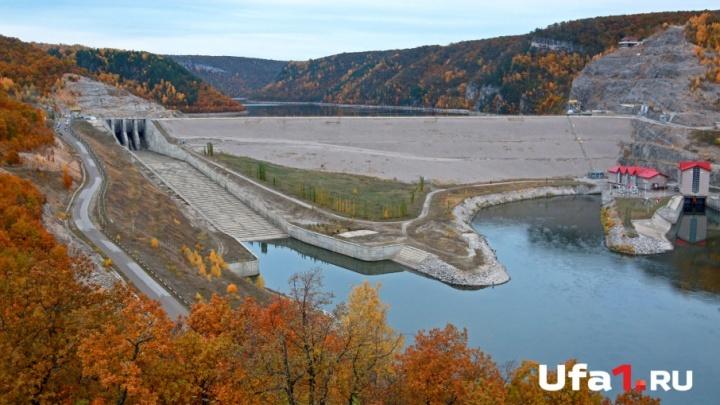Фейерверк осенних листьев: Юмагузинское водохранилище оделось в золото