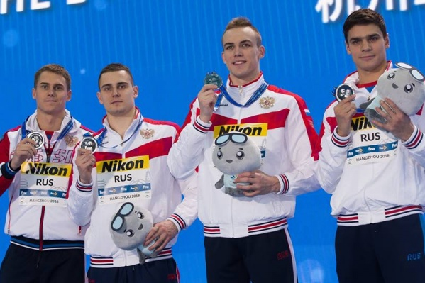 Волгоградец Иван Кузьменко увозит из Китая четыре медали