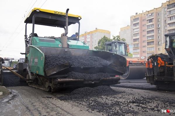 По программе «Безопасные и качественные дороги» в этом году ремонтируют 18 челябинских улиц