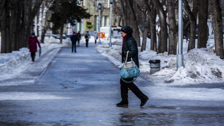 То припечёт, то подморозит: в Новосибирск идёт похолодание со снегопадами