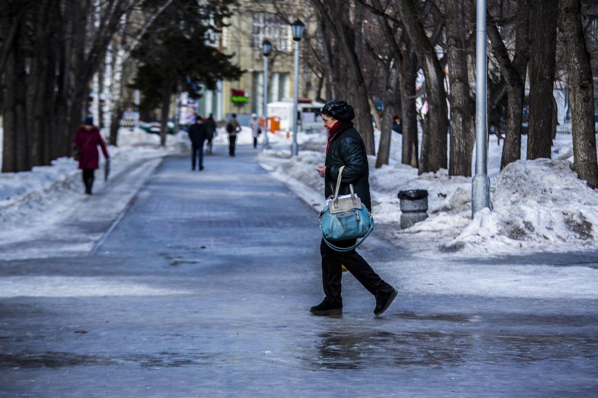 В городе похолодает до –13, а потом снова наступит оттепель