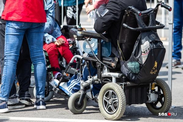 13-летний болельщик на коляске первый раз собрался на выездной матч