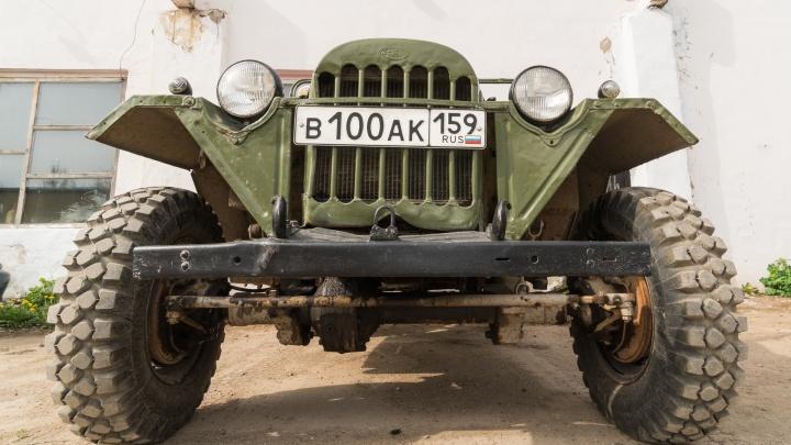 Что это за автомобиль, дедушка? ГАЗ-67, который перевозил пушки и может утащить вагон