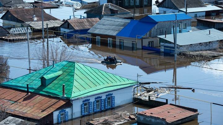 Снимки весеннего паводка в Омской области попали в финал международного конкурса