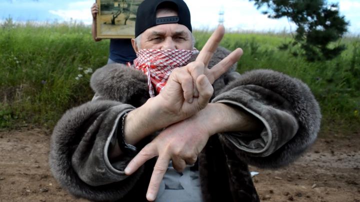 «Ставьте луковки». Как пенсионер из Култаево стал блогером и рэпером (пусть и для одного клипа)