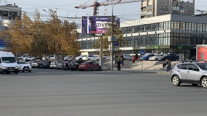 «Где дороги?»: Вокзальная магистраль возле ЦУМа стала стиральной доской, а на Ленина пропал светофор