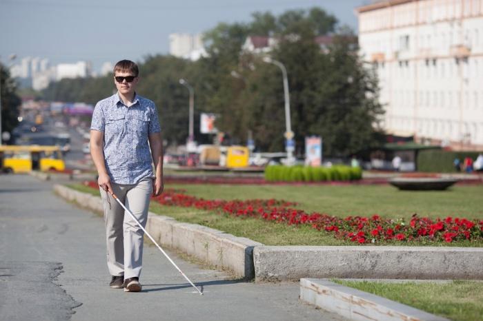 Владимир Васкевич ничего не видит, но это не мешает ему вести активный образ жизни