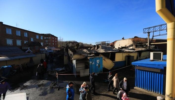 «Тушить начали через 40 минут»: владелец рынка«Тотем» рассказал о ночном пожаре