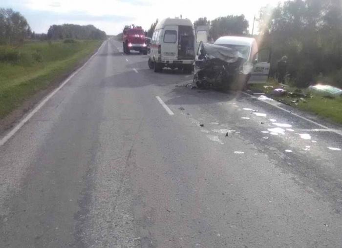 Фото с места аварии
