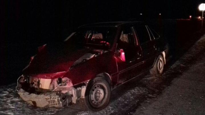 Смертельная авария на трассе в Башкирии: иномарка наехала на сани
